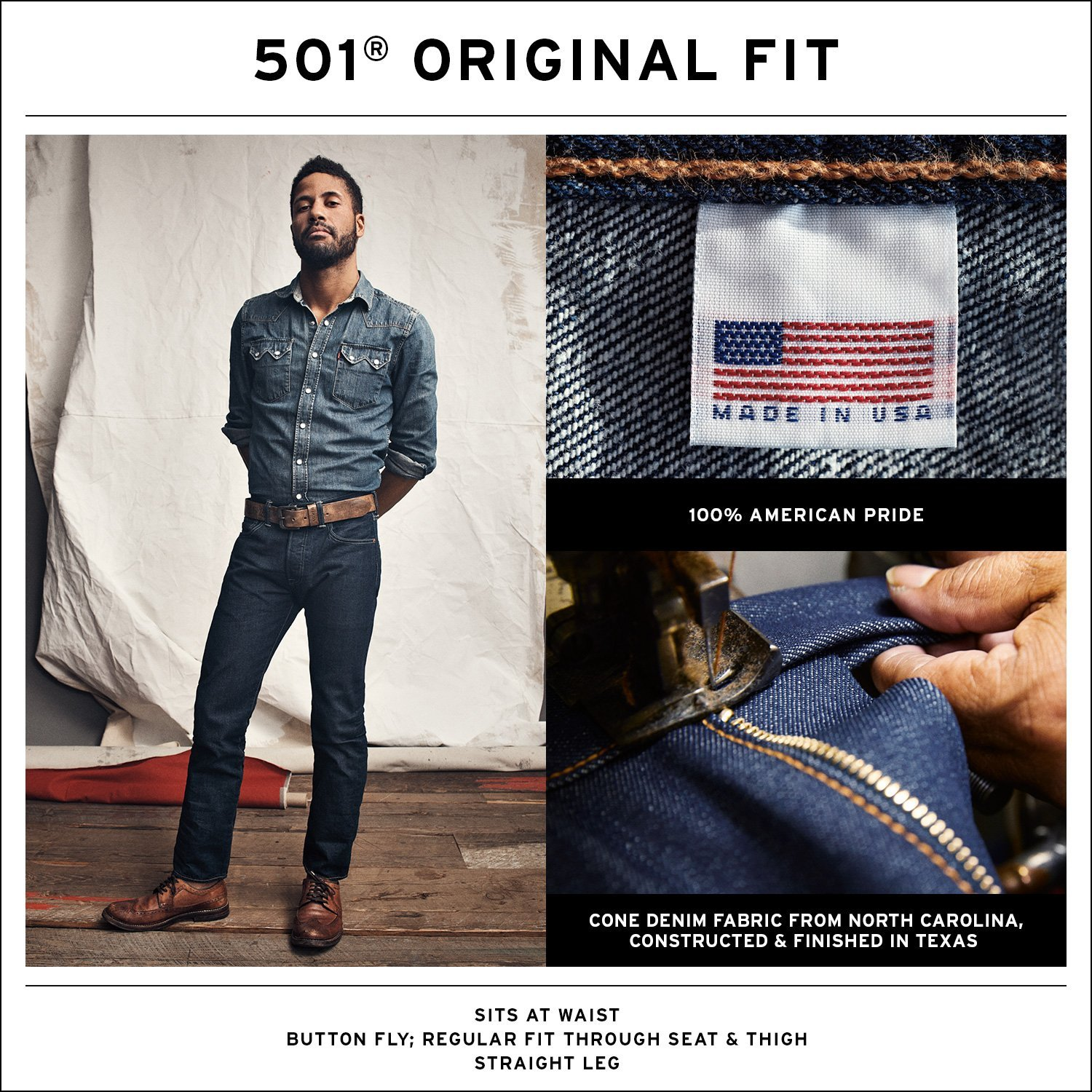 501® Made In the USA Original Fit Jeans
