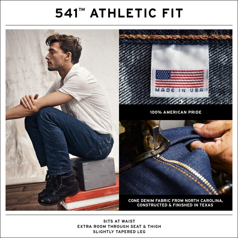 541® Athletic Fit Jeans Made In the USA