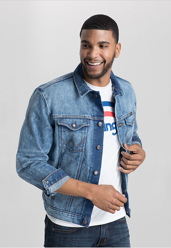Wrangler® Cowboy Cut® Denim Jacket PREMIUM WASH