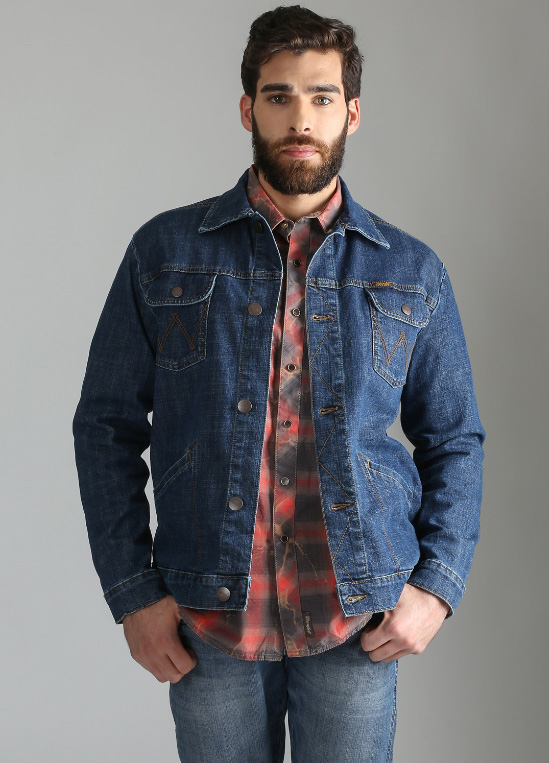 Wrangler® RETRO® PREMIUM UNLINED WESTERN DENIM JACKET