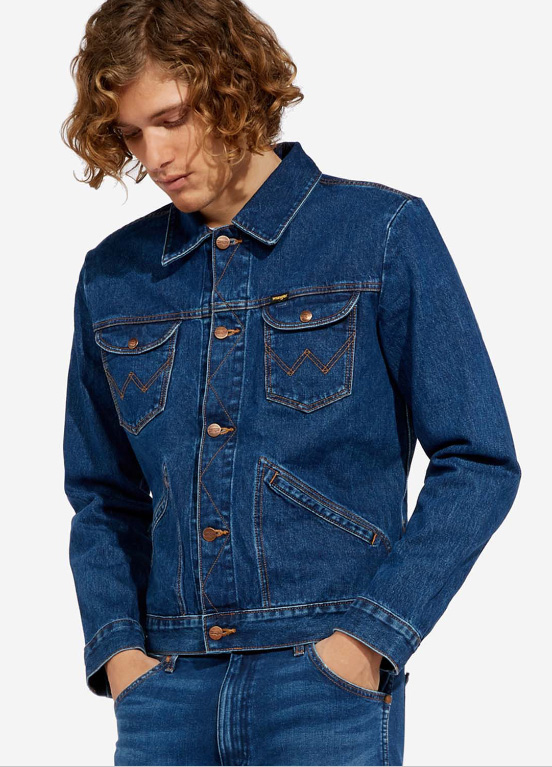Wrangler® ICONS™ 124MJ MEN'S DENIM JACKET