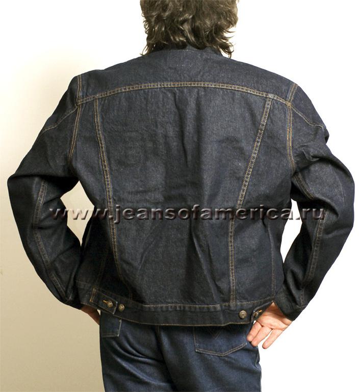 Montana® 12062 Original Denim Jacket  Rinsed (мочёный)  c06cebb5d457a