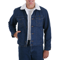 Wrangler® Cowboy Cut® Sherpa Lined Denim Jacket