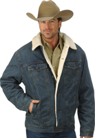 Wrangler® Sherpa Lined REGULAR Denim Jacket